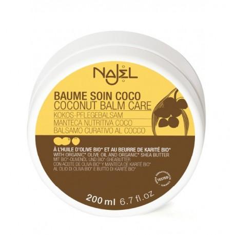 Balsam cu cocos pentru corp si par