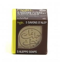 Sapun de Alep Najel 12% ulei de dafin pachet 5x20gr