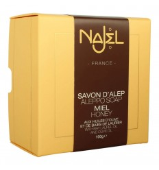 Sapun de Alep Najel Collection cu miere 100g