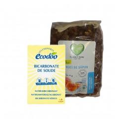 Set Nuci de sapun-bicarbonat de sodiu ecologic