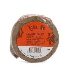Sapun de Alep Najel cu ambra si lemn de agar (oud)-150 g