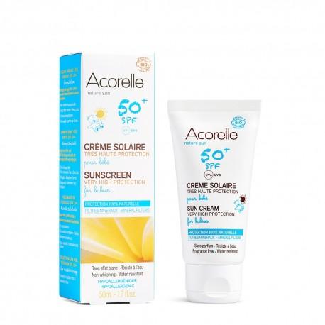 Crema bio protectie solara bebe SPF 50 50ml
