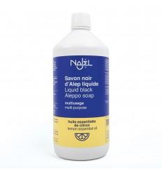 Detergent universal cu sapun negru de Alep cu aroma de lamaie 1L