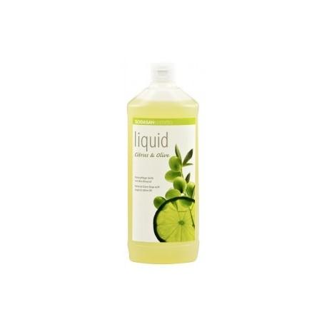 Săpun lichid si gel de dus bio din plante Citrice-Măsline 1L