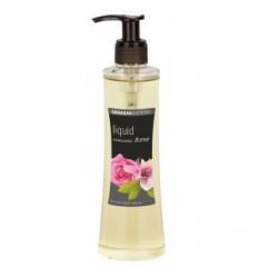 Săpun lichid si gel de dus din uleiuri bio - Trandafir Romantic 250 ml